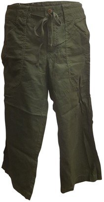 Patagonia Green Cotton Shorts for Women