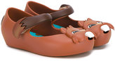 Mini Melissa Ultragirl VI ballerinas - kids - Leather/PVC/rubber - 23