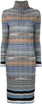 Missoni prince of wales knitted dress - women - Nylon/Polyester/Viscose/Wool - 40