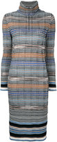 Missoni prince of wales knitted dress