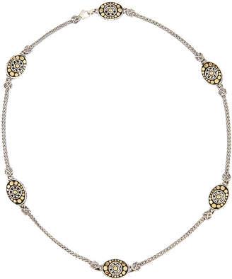 """John Hardy Jaisalmer 18K Gold & Sterling Silver Sautoir Necklace, 18"""""""