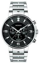 Movado SE Pilot Chronograph Watch, Silver/Black