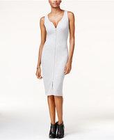 GUESS Joany Zip-Front Sheath Dress