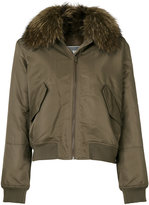 Army Yves Salomon Four Lapin jacket