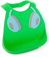 Q.U.E NEW DJ Headphones Green/Blue Silicone Bib