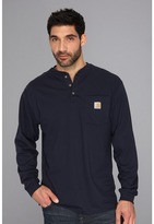 Carhartt Big Tall Workwear Pocket L/S Henley Men's Long Sleeve Pullover