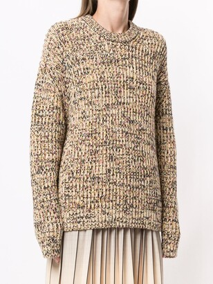 Proenza Schouler White Label Mixed Yarns Knitted Jumper