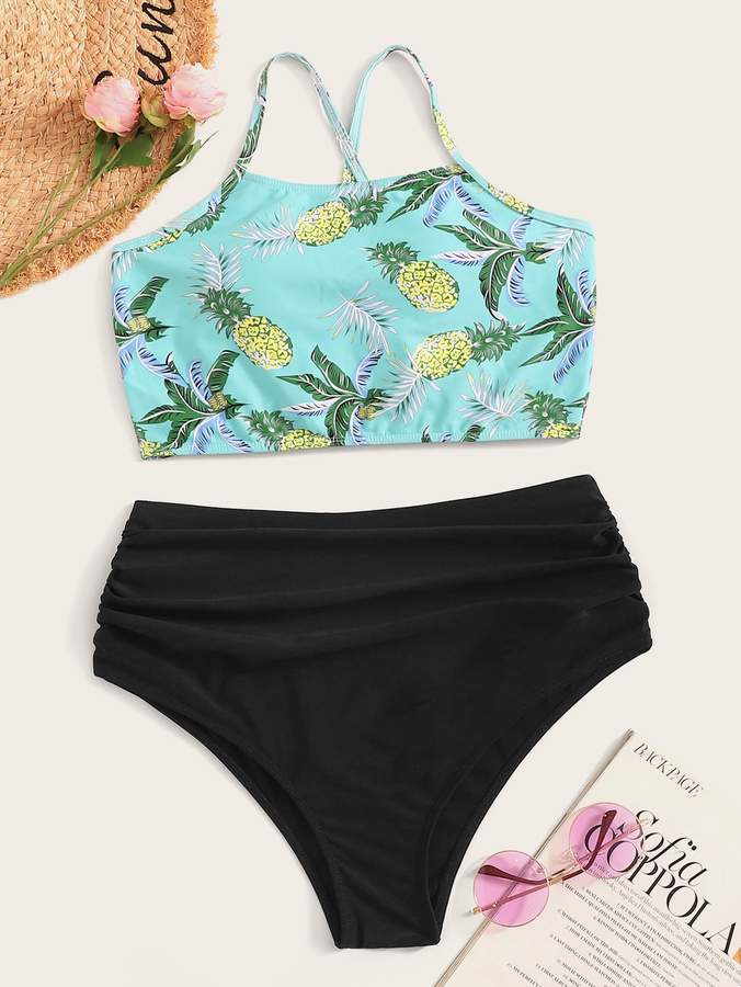 f7b69cb0a4 Pineapple Swimsuit - ShopStyle