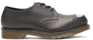 Raf Simons X Dr. Martens Keaton Leather Derby Shoes - Mens - Black