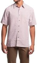 Royal Robbins Desert Pucker Plaid Shirt - Short Sleeve (For Men)