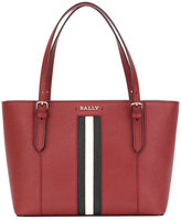 Bally striped trim tote bag - women - Calf Leather - One Size