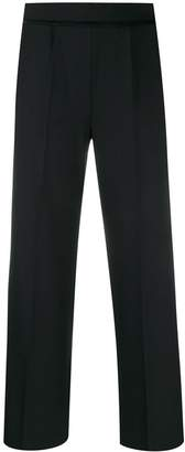 Piazza Sempione high-waisted wide-leg trousers