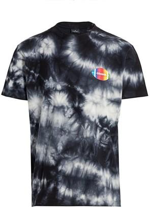 Marcelo Burlon County of Milan Football Tie-Dye Graphic T-Shirt