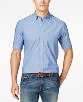 Club Room Men's Dot-Print Short-Sleeve Shirt