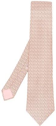Hermes 2000's Pre-Owned Link Pattern Tie