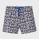 Paul Smith Men's 'Etch Floral' Print Swim Shorts