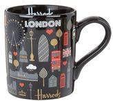 Harrods London Metallic Mug