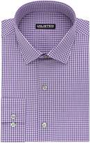 Kenneth Cole Reaction Unlisted by Men's Slim Fit Check Spread Collar Dress Shirt