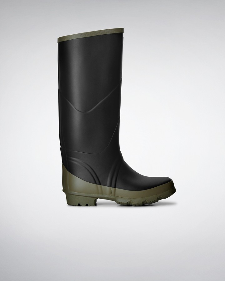 Hunter Argyll Bullseye Full Knee Wellington Boots