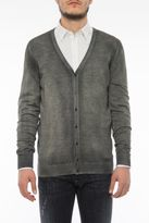 Avant Toi Cardigan With Ribbed V Neck