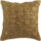 Pier 1 Imports Beaded Floral Pillow