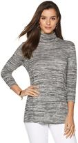 Liz Lange Turtleneck Top with Flattering Seams