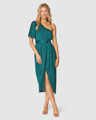 Pilgrim Women's Green Midi Dresses - Cam Midi Dress - Size One Size, 10 at The Iconic