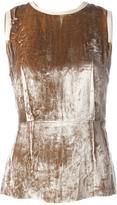 Joseph 'Lone' velvet vest