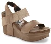 OTBT Women's 'Bushnell' Wedge Sandal