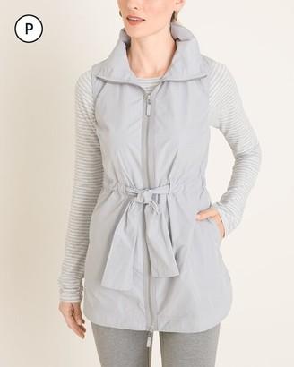 Zenergy Petite Tie-Front Vest