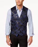 INC International Concepts Men's Slim-Fit Faux-Suede Vest, Created for Macy's
