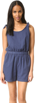 Madewell Tie Strap Romper