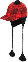 Gucci Tartan Cotton-wool Blend Hat