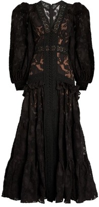 Acler Suffield Lace Maxi Dress