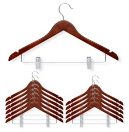 Honey-Can-Do 12-Pc. Basic Suit Hanger with Clips