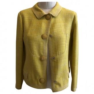 Louis Vuitton Yellow Wool Jackets