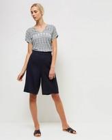Jaeger Linen Shorts