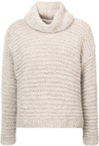 Apiece Apart cropped turtle neck sweater - women - Polyamide/Alpaca - S