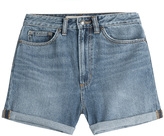 Marc by Marc Jacobs Denim Shorts with Sequins and Embroidery