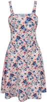 Tom's Ware Womens Stylish Floral Print Adjustable Strap Skater Dress TWCWD111-S-CA