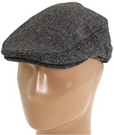 Brixton Hooligan (Grey/Black Herringbone) Traditional Hats