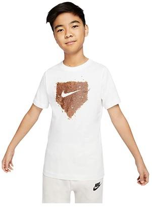 Nike Kids Home Plate Baseball Tee (Little Kids/Big Kids) (Black) Boy's T Shirt
