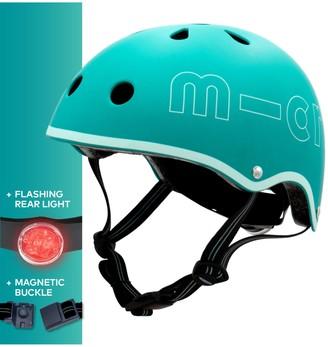 Micro Deluxe Scooter Helmet, Aqua, Medium