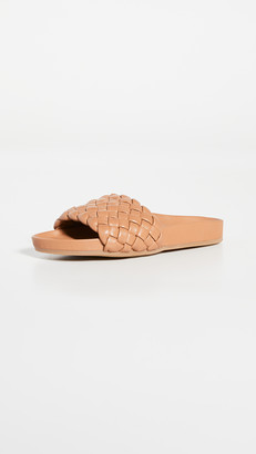 Loeffler Randall Flat Woven Footbed Sandals