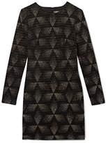 Vince Camuto Glitter Diamond-print Dress