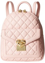 Love Moschino Quilted Emblem Mini Backpack Backpack Bags