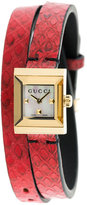Gucci double square watch