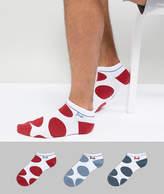 Pringle Sneaker Socks 3 Pack Spot