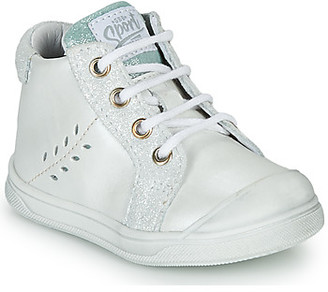 GBB AGAPE girls's Shoes (High-top Trainers) in White