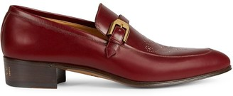 Gucci Brogue Detail Loafers